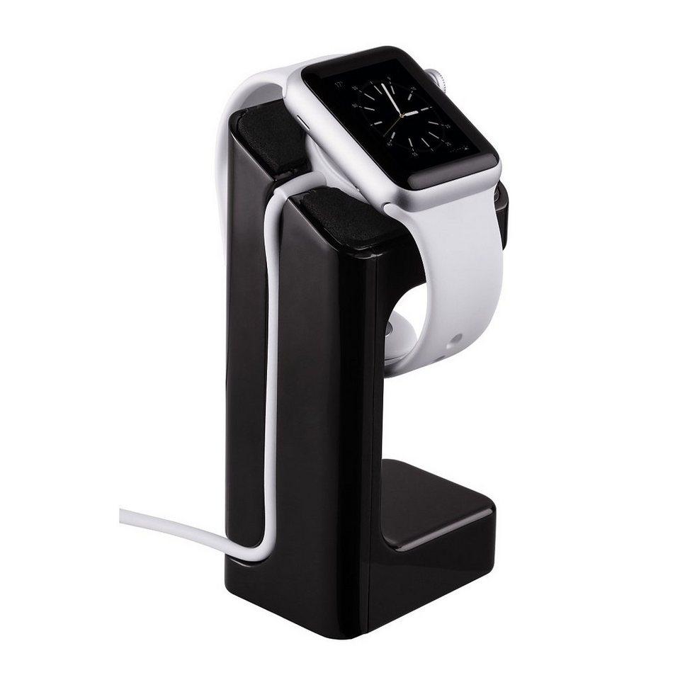 Hama Smartwatch Halter Halterung f. Apple Smartwatch Uhr in Schwarz