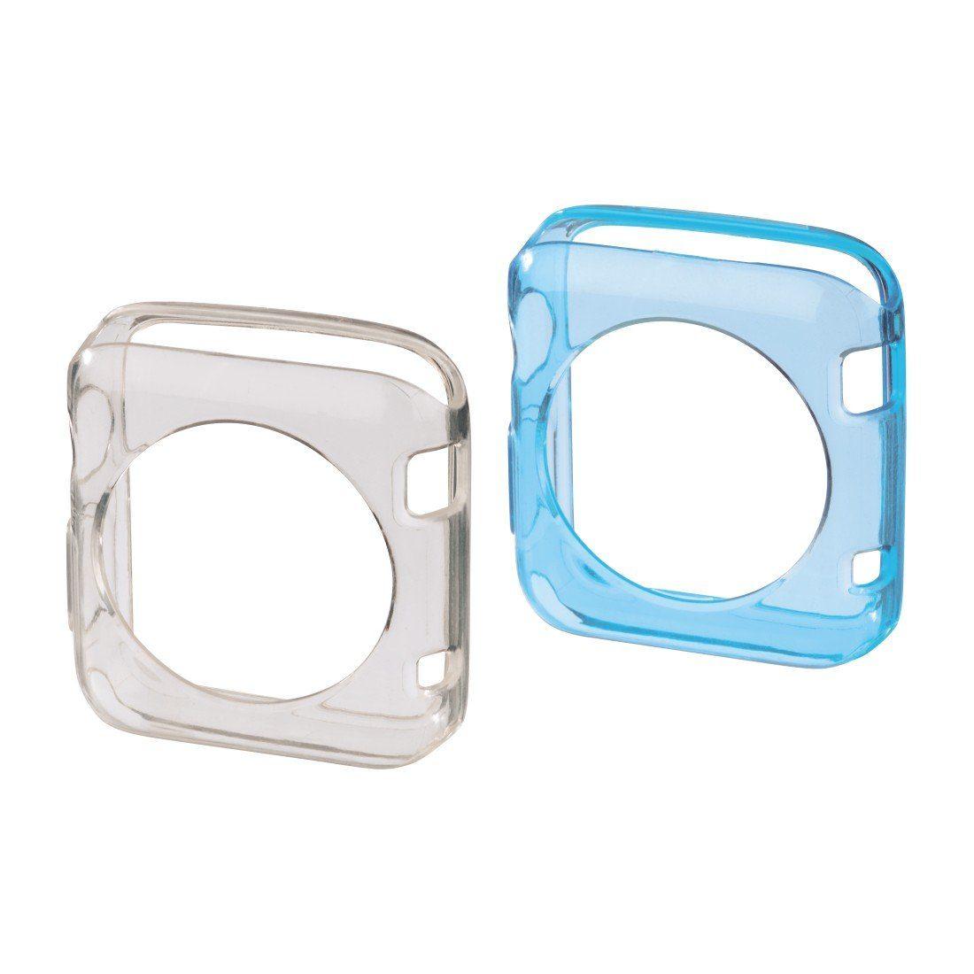 Hama Schutzhüllen-Set Crystal für Apple Watch 38 mm, 2 St.