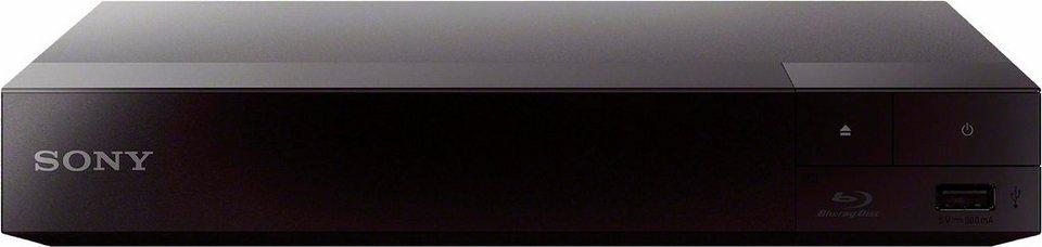 Sony BDP-S3700 Blu-ray-Player, 1080p (Full HD), WLAN in schwarz