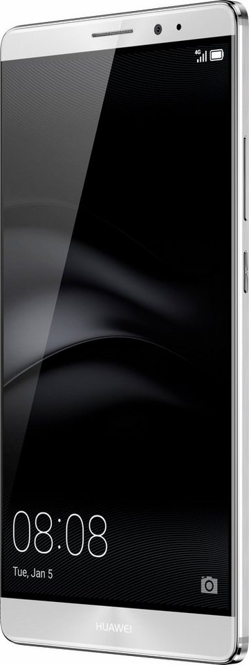 Huawei Mate 8 Smartphone, 15,24 cm (6 Zoll) Display, LTE (4G), Android 6.0 (Marshmallow) in silberfarben