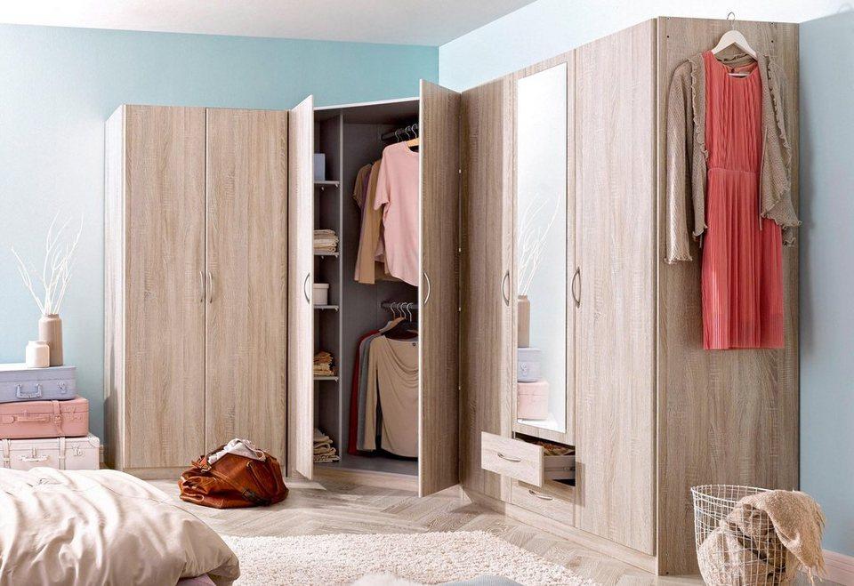 eckschrankkombination set frankfurt 3 tlg otto. Black Bedroom Furniture Sets. Home Design Ideas