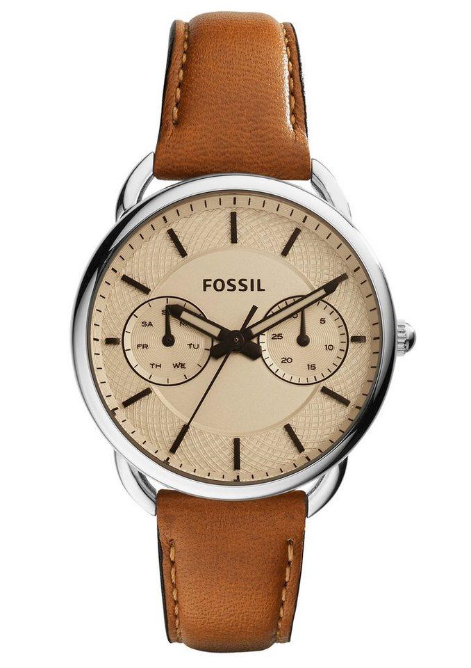Fossil Multifunktionsuhr »TAILOR, ES3950« in cognac