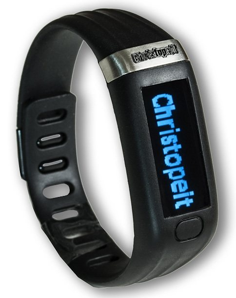 Christopeit Sport® Activity Tracker, »FT1000« in schwarz