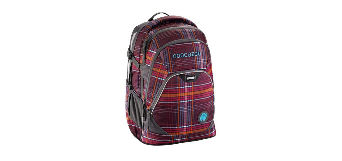 "Coocazoo Rucksack ""EvverClevver2"" mit Laptopfach »Walk The Line Purple«"