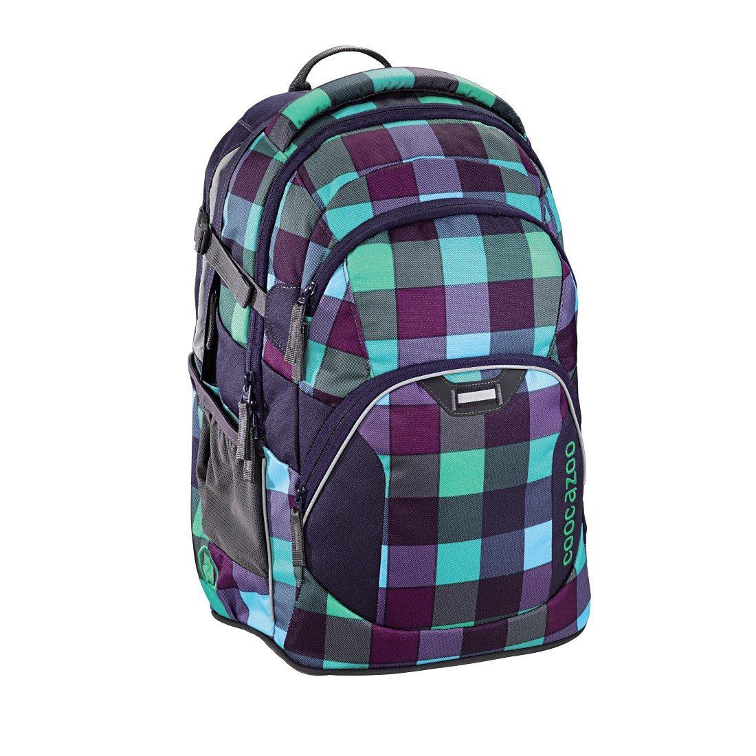 """Coocazoo Rucksack """"JobJobber2"""" mit Laptopfach, Green Purple Dis »Außenmaße 30 x 45 x 20 cm«"""