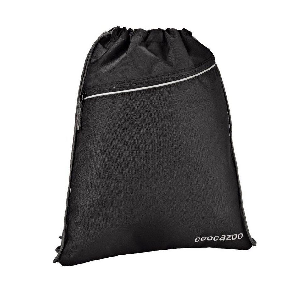 Coocazoo Sportbeutel RocketPocket, Beautiful Black