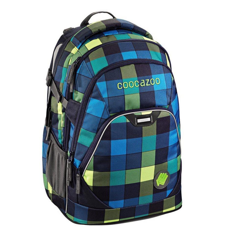 """Coocazoo Rucksack """"EvverClevver2"""" mit Laptopfach, Lime District »Außenmaße 30 x 45 x 20 cm«"""