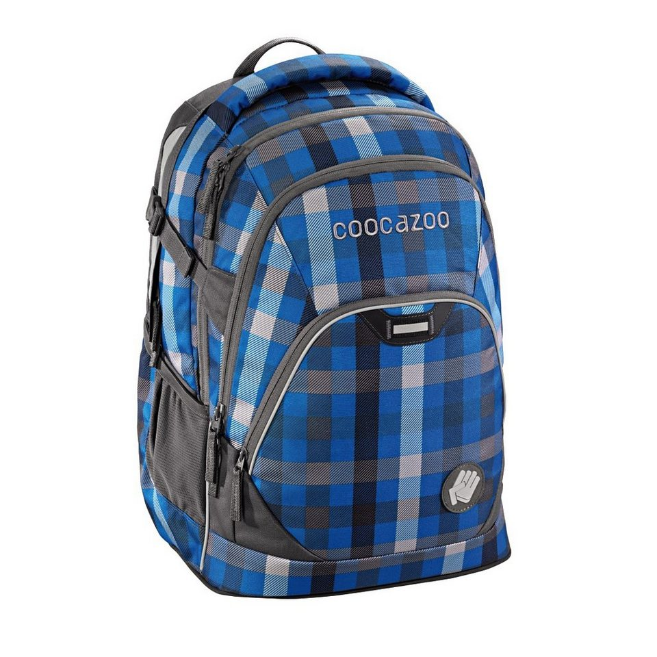"""Coocazoo Rucksack """"EvverClevver2"""" mit Laptopfach »Hip To Be Square Blue«"""