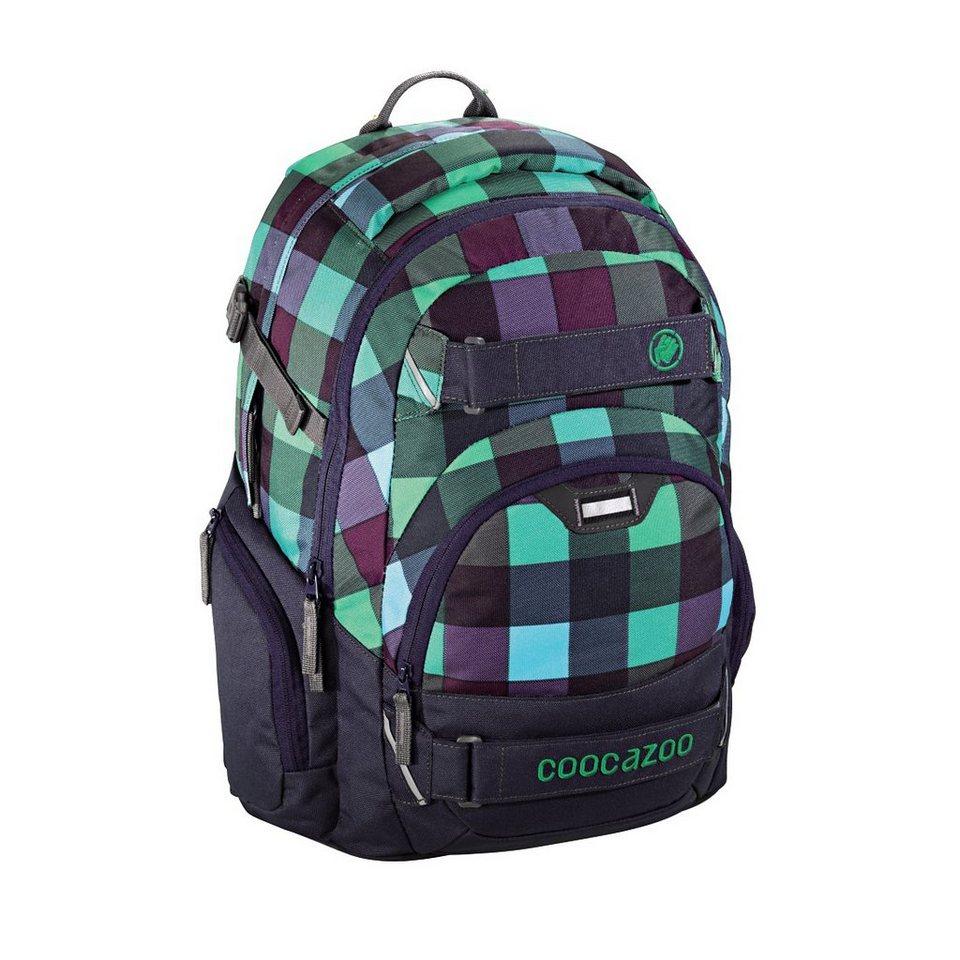 """Coocazoo Rucksack """"CarryLarry2"""" mit Laptopfach,Green Purple Dis »Außenmaße 30 x 44 x 21 cm«"""