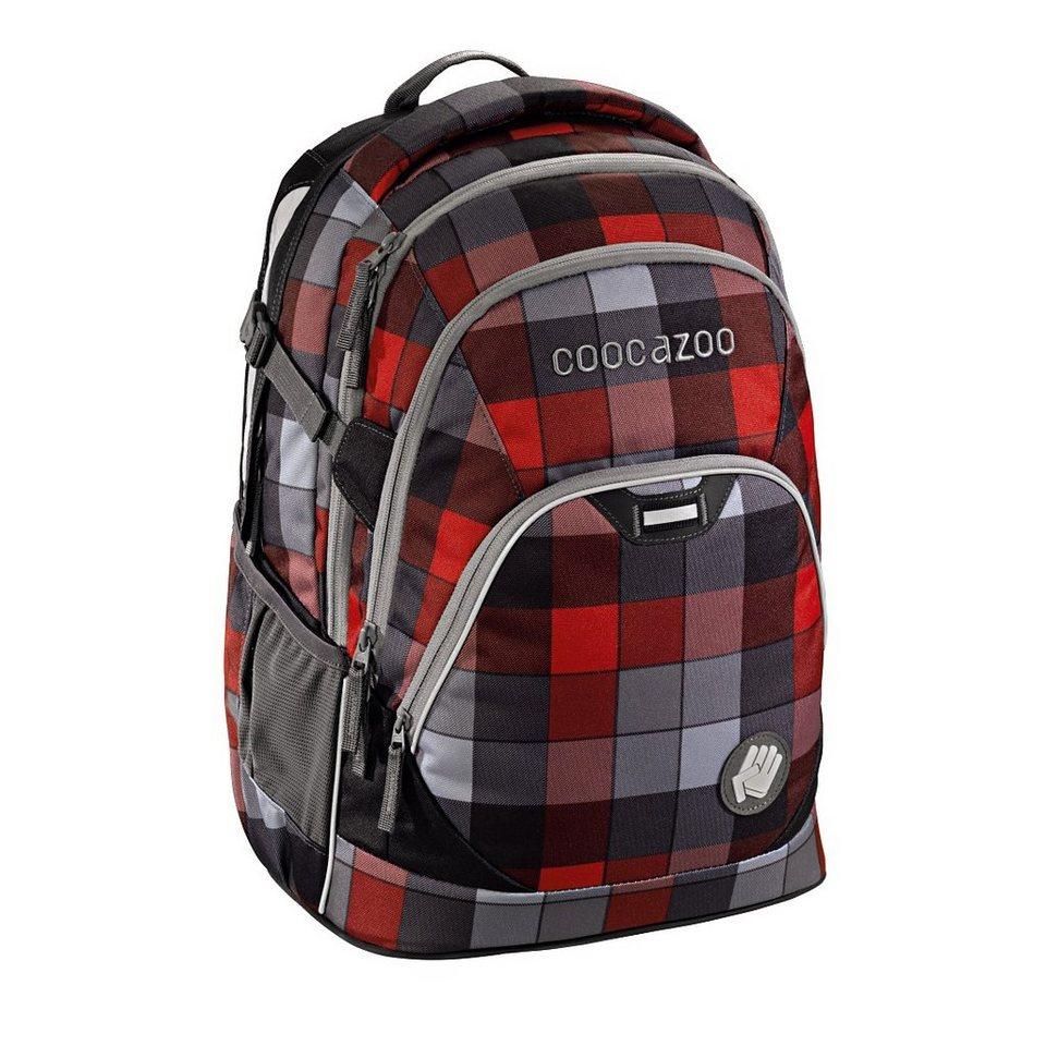 """Coocazoo Rucksack """"EvverClevver2"""" mit Laptopfach, Red District »Außenmaße 30 x 45 x 20 cm«"""