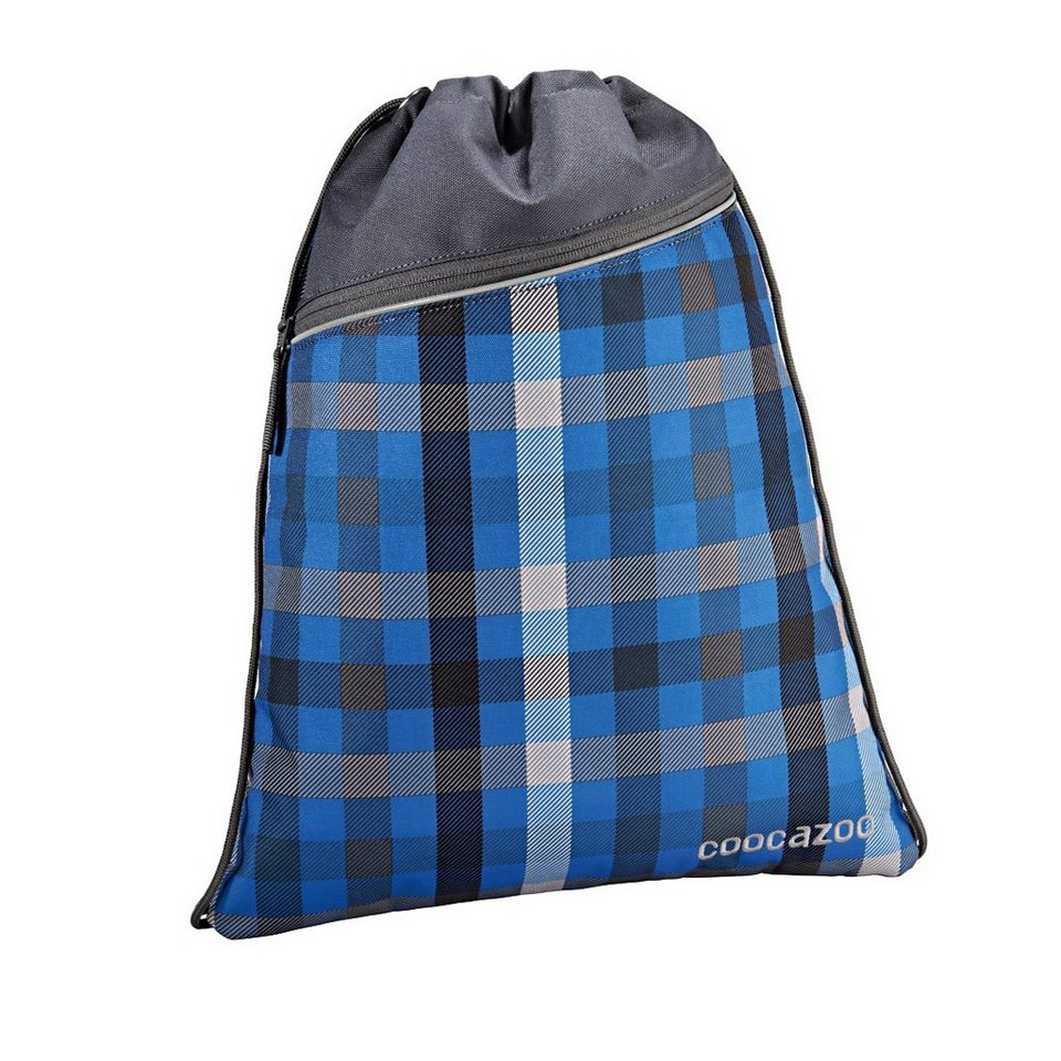 Coocazoo Sportbeutel RocketPocket, Hip To Be Square Blue