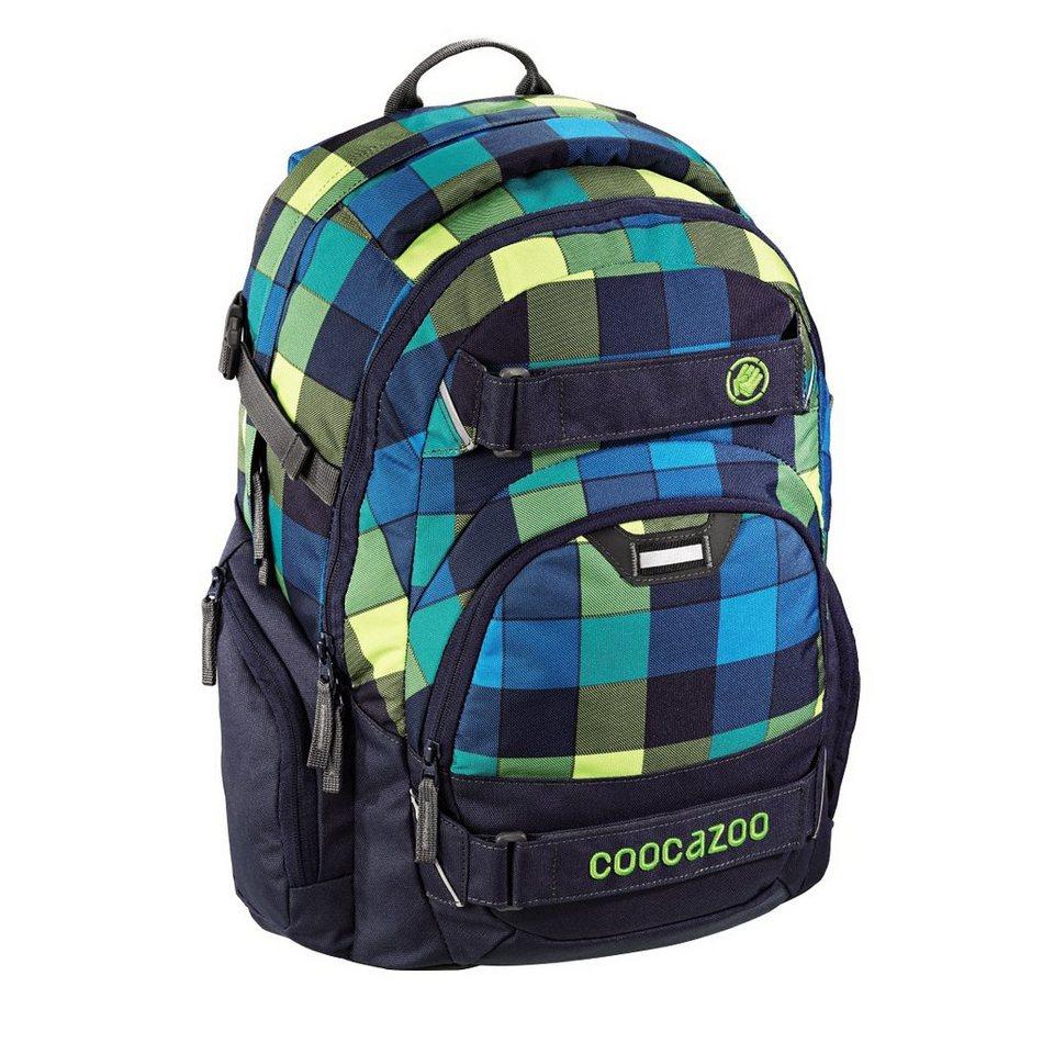 """Coocazoo Rucksack """"CarryLarry2"""" mit Laptopfach, Lime District »Außenmaße 30 x 44 x 21 cm«"""