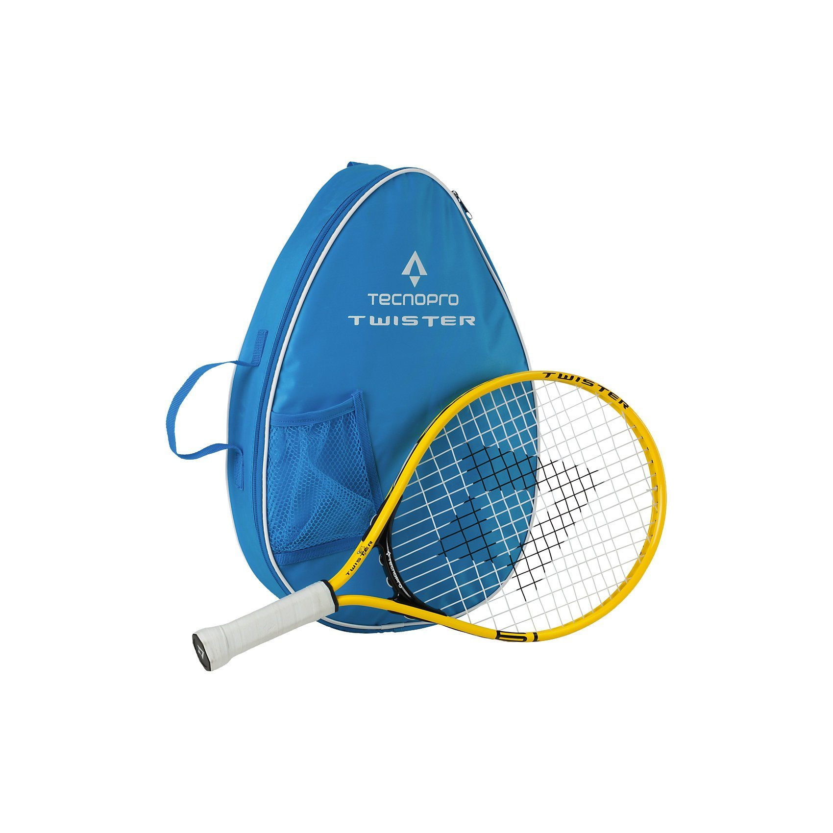 Tecnopro Tennis-Set Twister 19, gelb