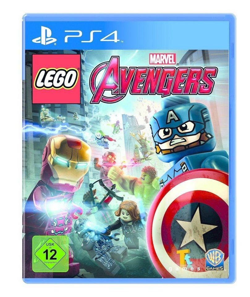 Warner Games Playstation 4 - Spiel »LEGO Marvel Avengers«