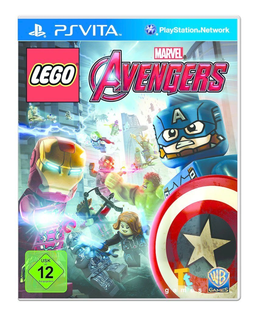 Warner Games Playstation Vita - Spiel »LEGO Marvel Avengers«