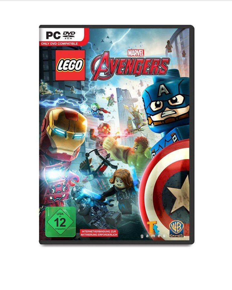 Warner Games PC - Spiel »LEGO Marvel Avengers«
