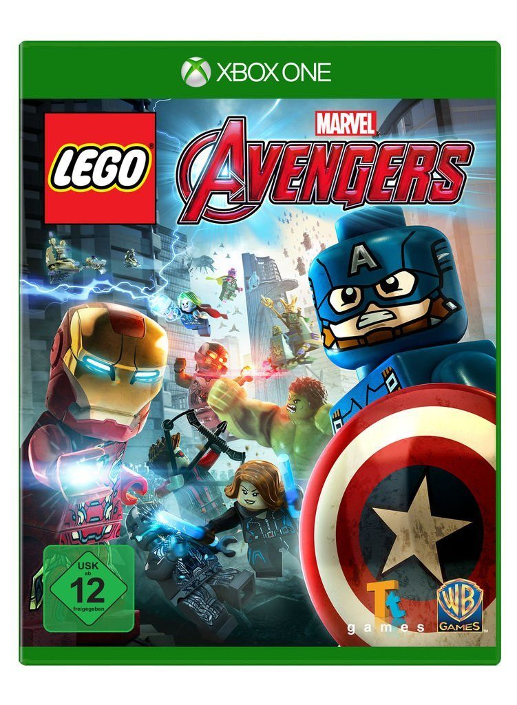 Warner Games XBOX One - Spiel »LEGO Marvel Avengers«
