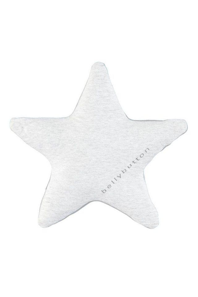 BELLYBUTTON Kuschelkissen »Sternform für Babies« in quarry