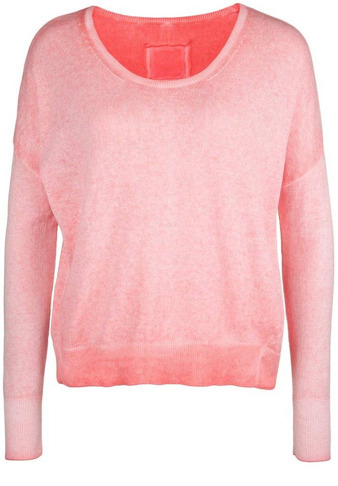 Better Rich Pullover »CREW CROP« in salmon