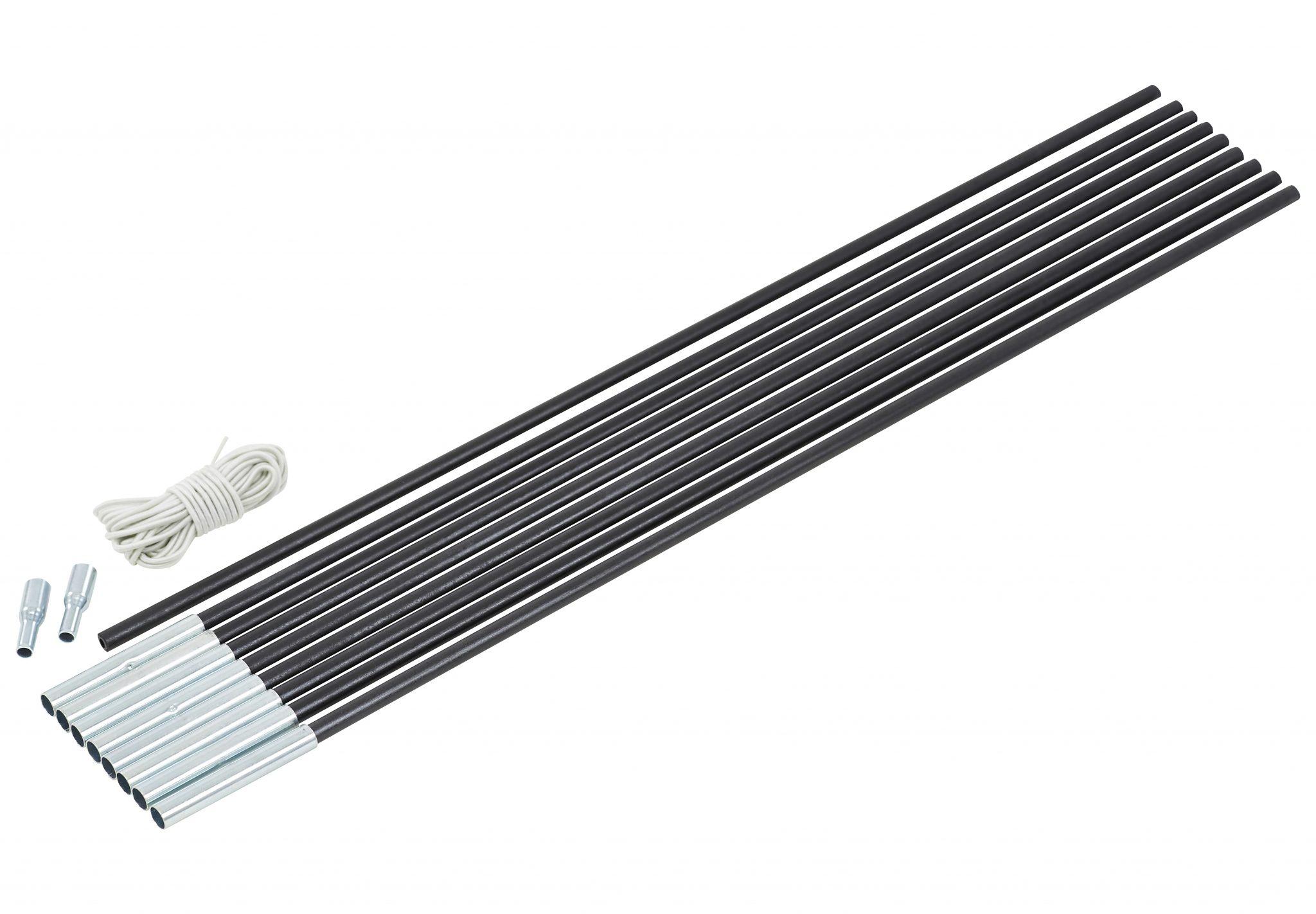 CAMPZ Zeltzubehör »Glasfaser Gestänge-Set 8mm/4,55m«