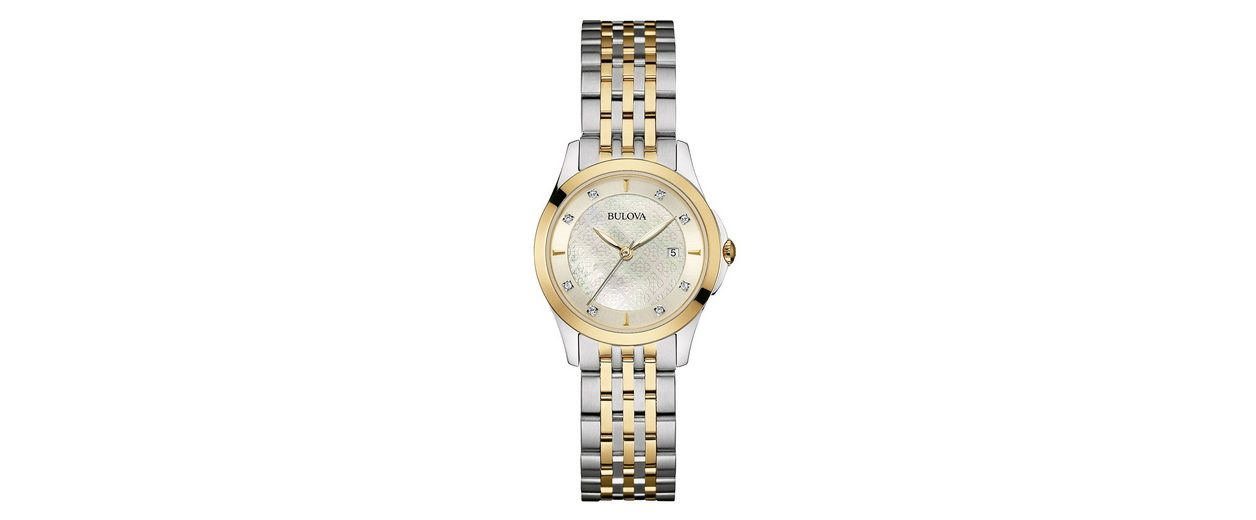 Bulova Quarzuhr »Diamonds, 98S148«