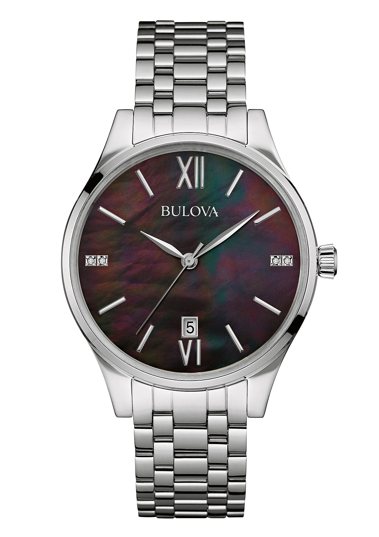 Bulova Quarzuhr »Diamonds, 96S162«