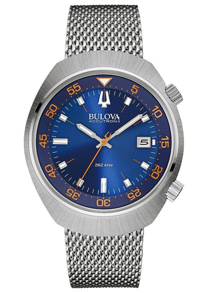 Bulova Quarzuhr »Accutron II Lobster, 96B232« in silberfarben