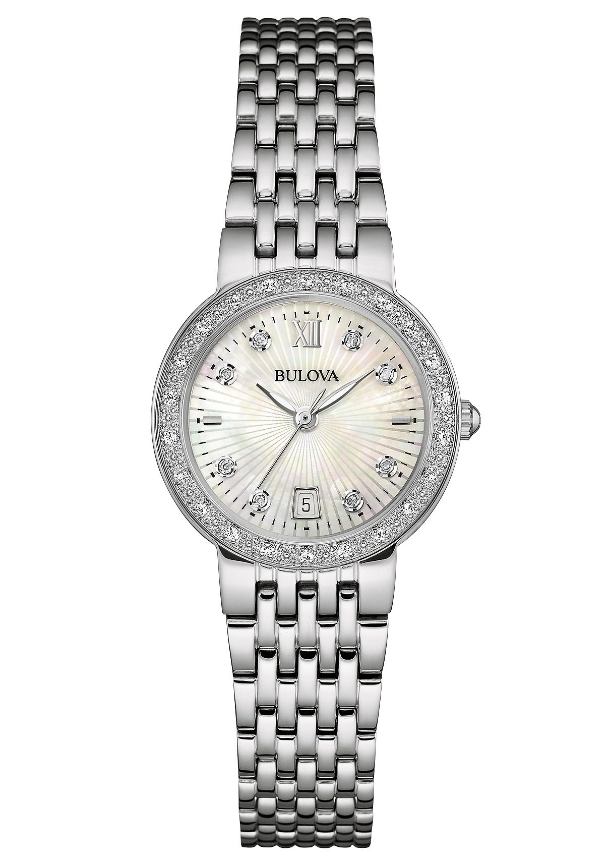 Bulova Quarzuhr »Diamonds, 96W203«