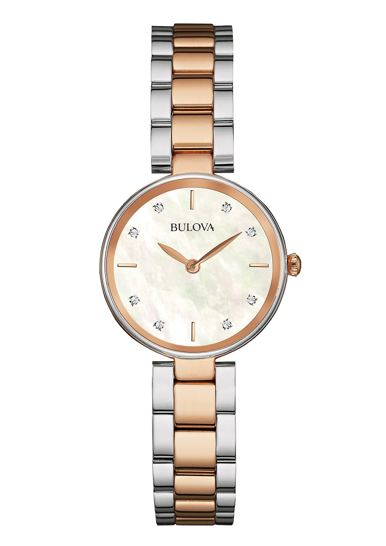 Bulova Quarzuhr »Diamonds, 98S147«