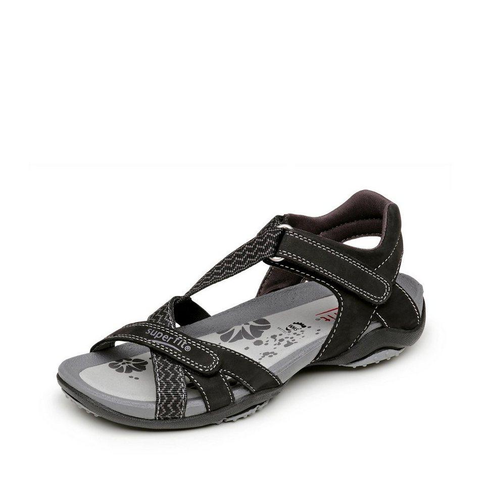 Superfit Sandale in schwarz