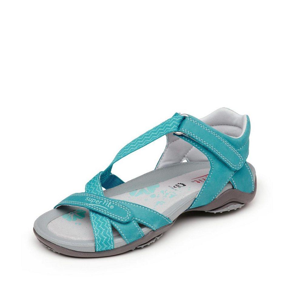 Superfit Sandale in türkis