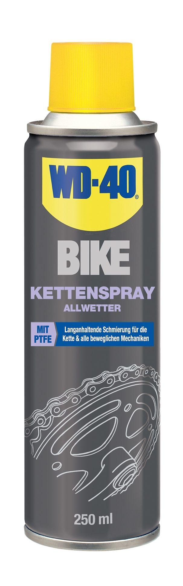WD-40 Fahrrad Reiniger »Kettenspray Allwetter 250 ml«