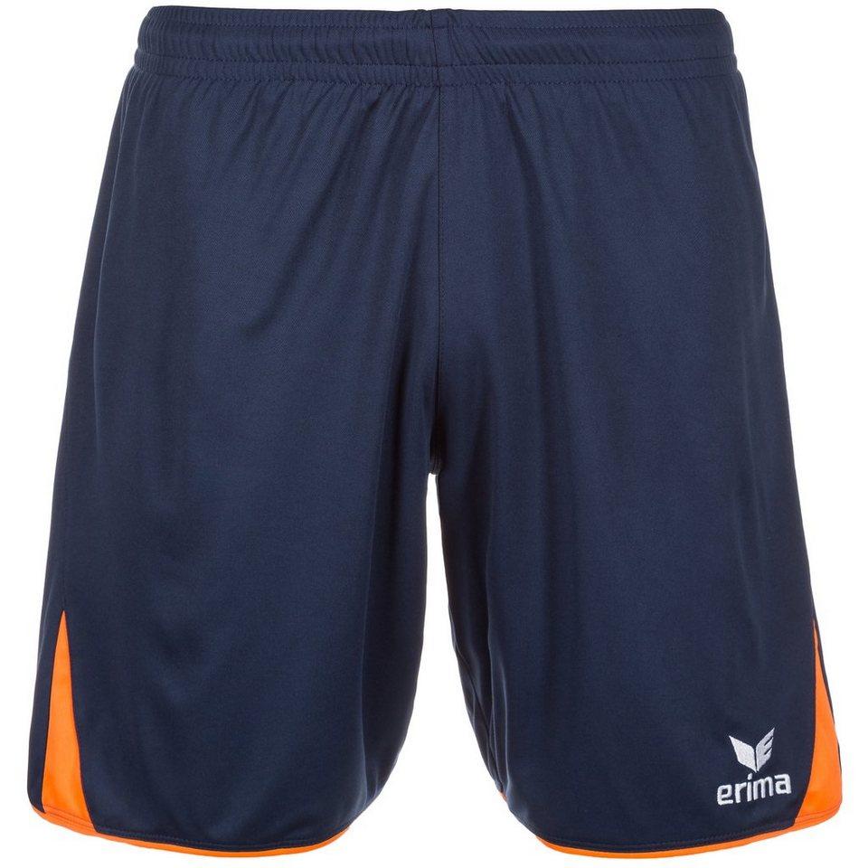 ERIMA 5-CUBES Short Kinder in new navy/neon orange