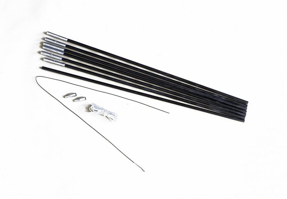 Relags Zelt »Fiberglasstange 4m x 8,5mm 7 Segmente« in schwarz