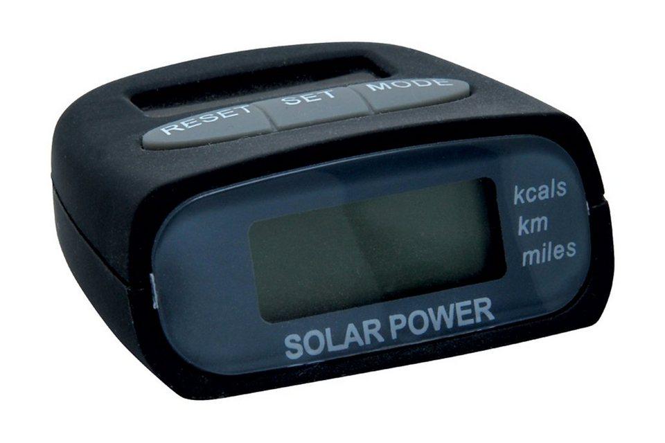 baladeo Pulsuhr »baladéo Solar-Schrittzähler Marathon« in schwarz