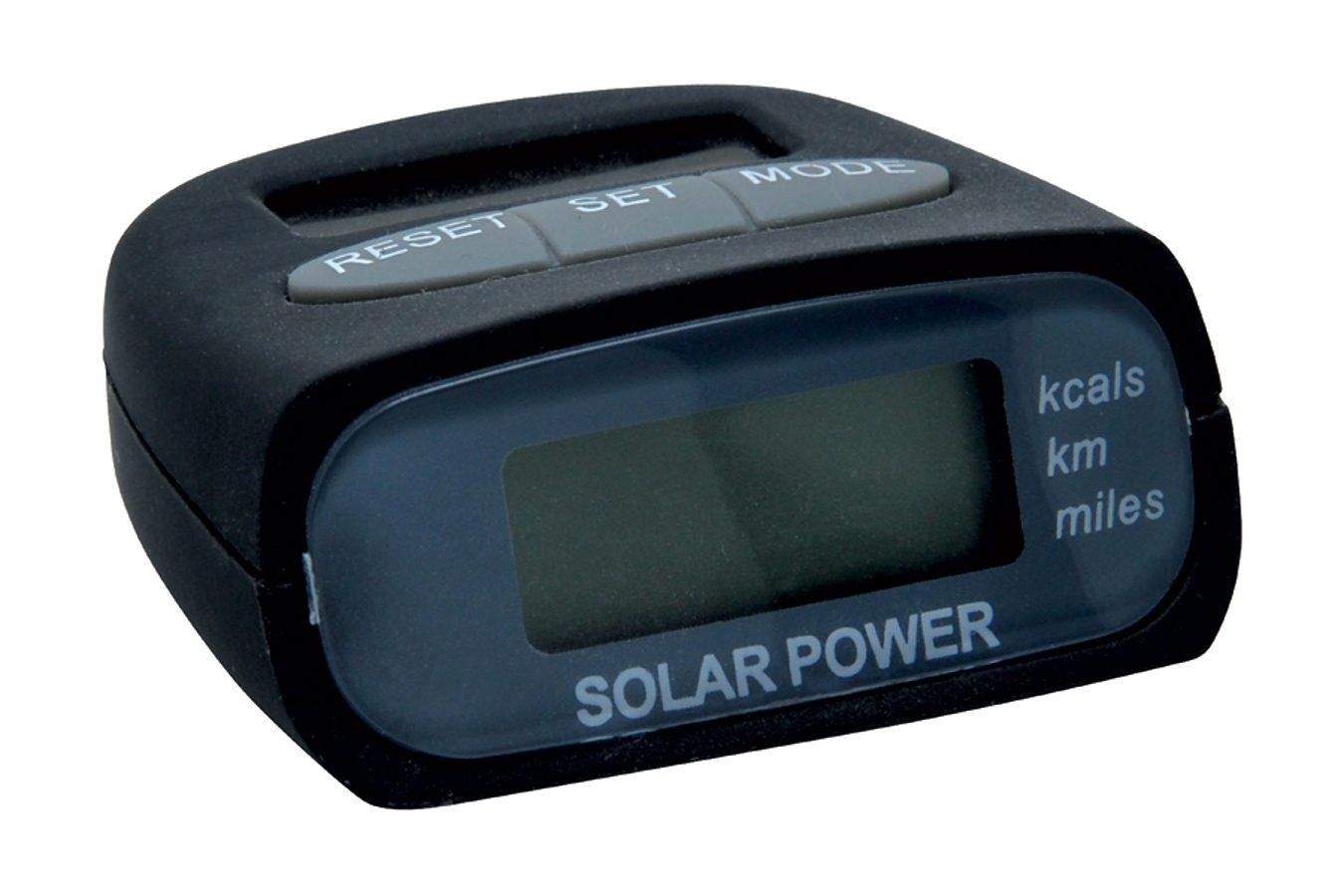 baladeo Pulsuhr »baladéo Solar-Schrittzähler Marathon«