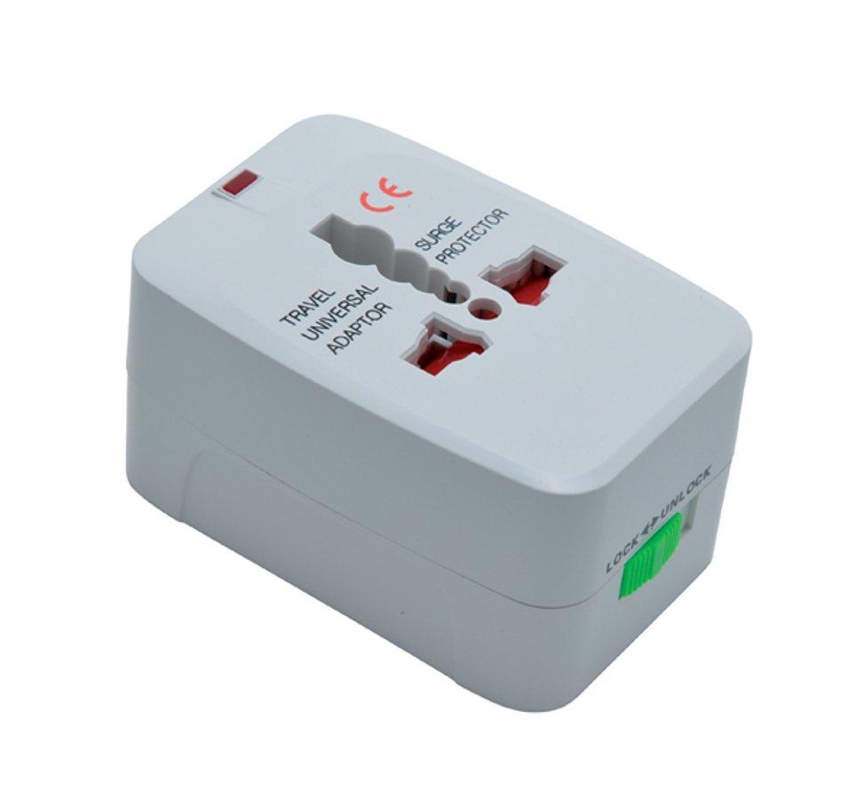 baladeo Reisestecker »baladéo Universal-Adapter Kunsan« in weiß