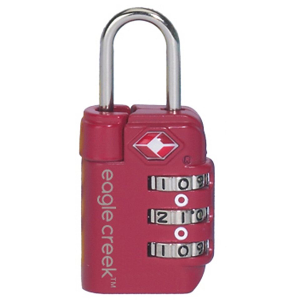 Eagle Creek Schloss »Travel Safe TSA Lock« in rot