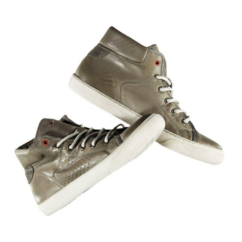 emilio adani Sneakers in Vintage-Optik in Blassbraun