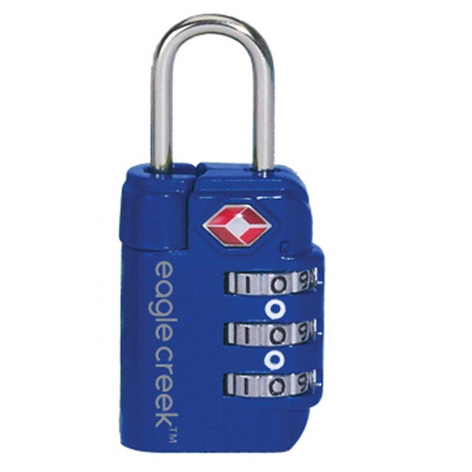 Eagle Creek Schloss »Travel Safe TSA Lock« in blau