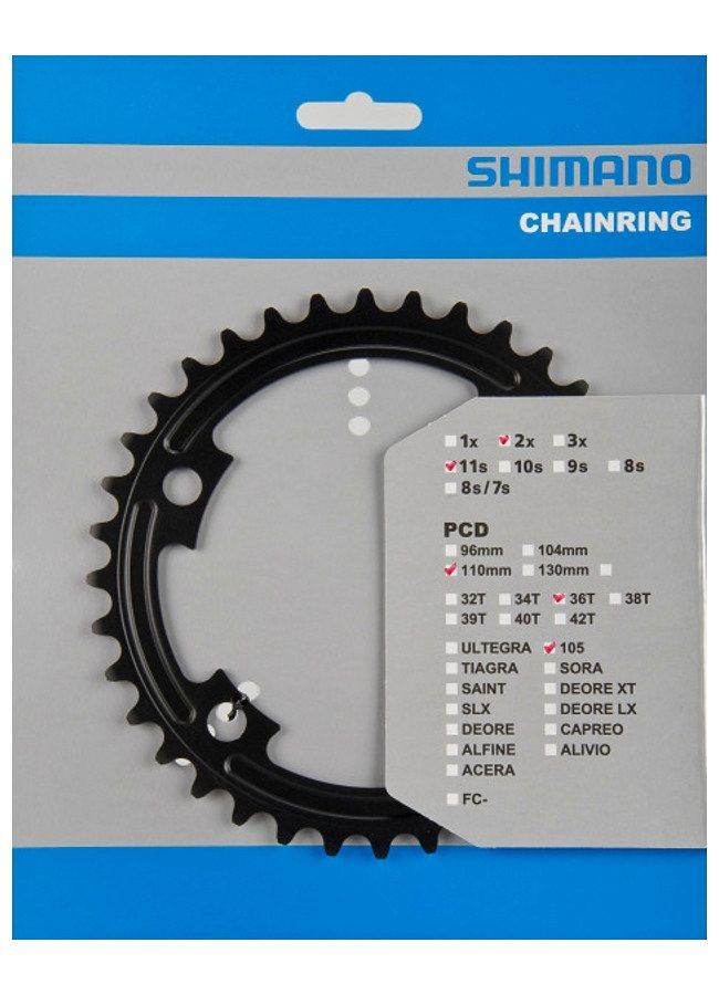 Shimano Kettenblatt »105 FC-5800 Kettenblatt MB 110 mm«