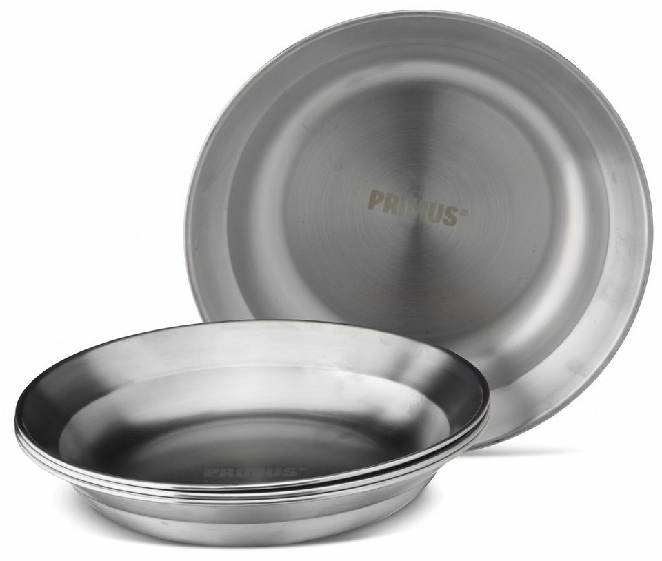 Primus Camping-Geschirr »CampFire Plate Stainless Steel« in silber