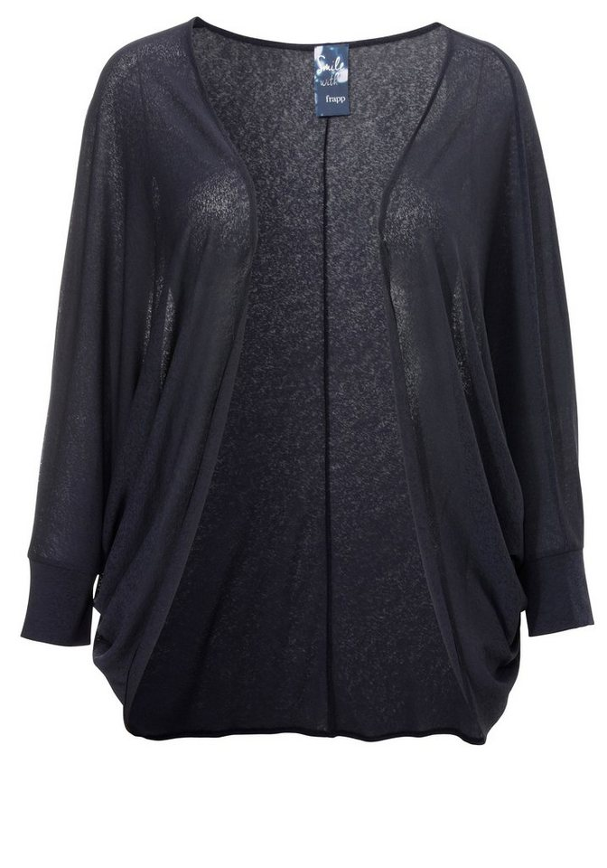 FRAPP Hauchzarte jacke »Night Blue« in NIGHT BLUE