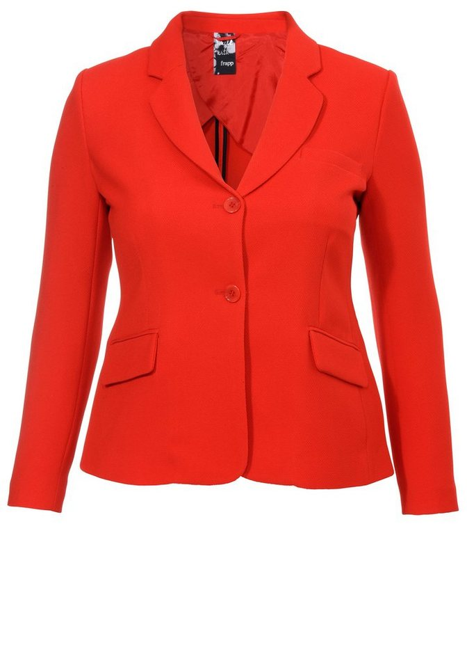 FRAPP Pikee-Blazer »Simply Red« in POPPY RED