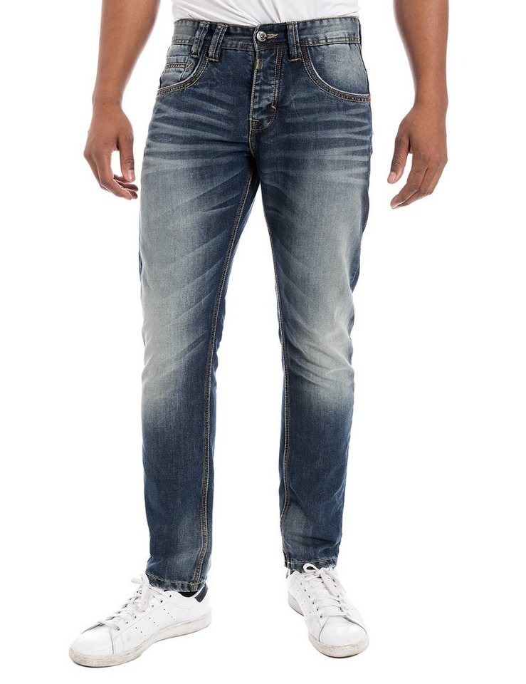 "TIMEZONE Jeans »GerritTZ ""3001 blue shadow""« in blue shadow"