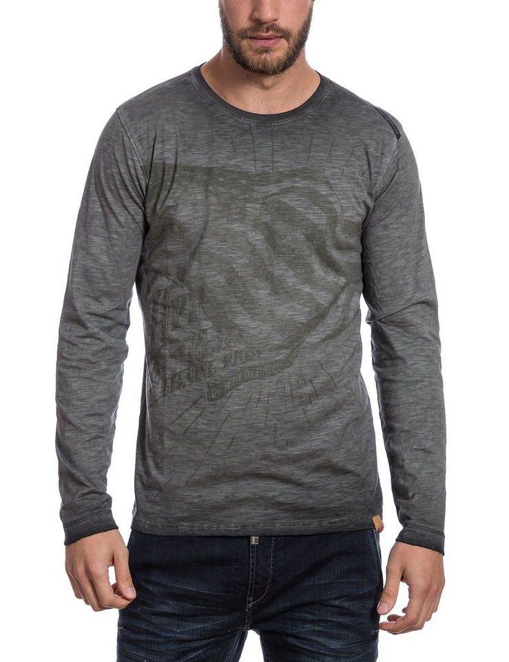 TIMEZONE T-Shirts (langarm) »Longsleeve« in caviar black
