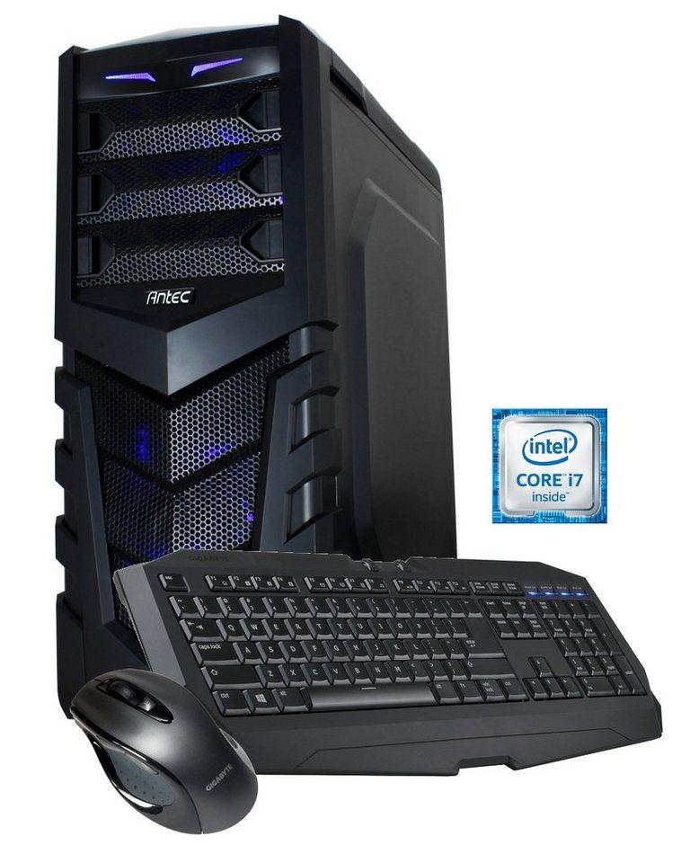 Hyrican Gaming PC Intel® i7-6700K, GeForce GTX 970, Windows 10 »HydroGamer 5055 OC Edition«
