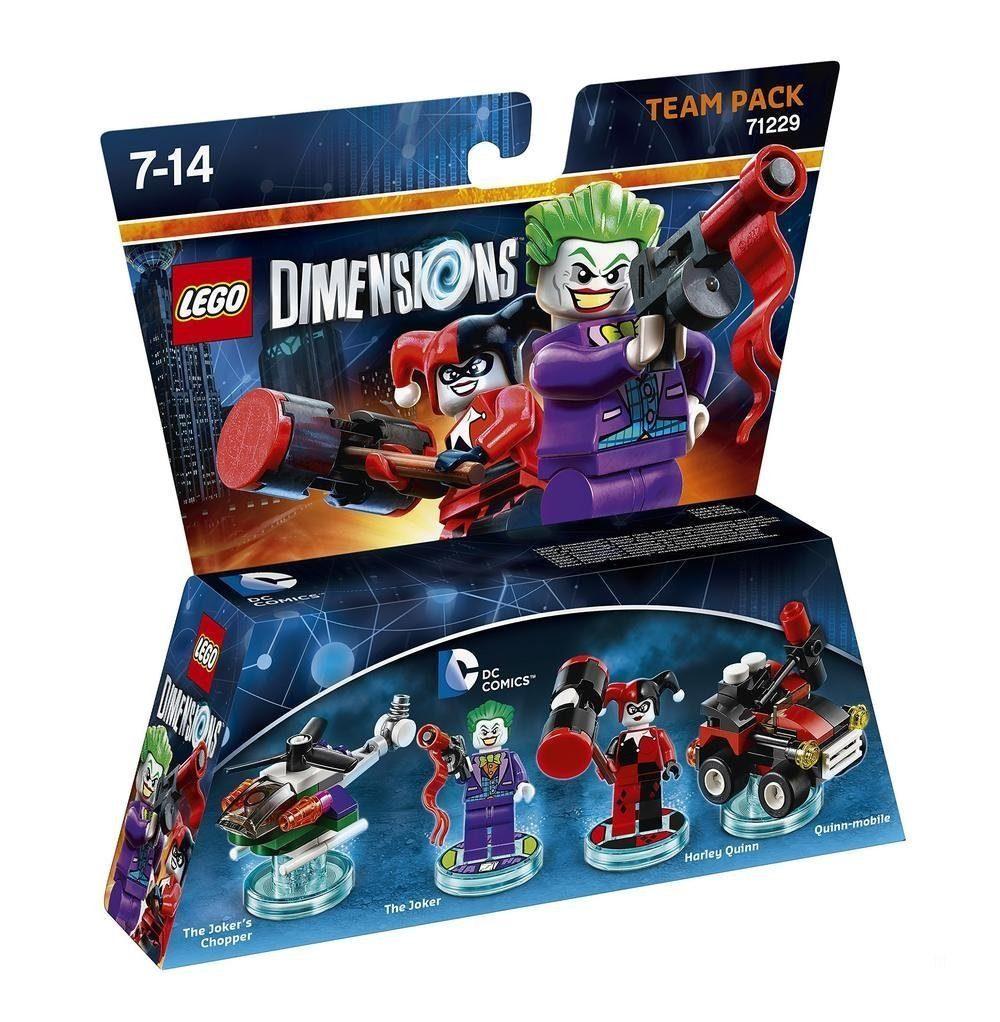Warner Games Fanartikel »Lego Dimensions Team Pack DC - Joker & Harley«