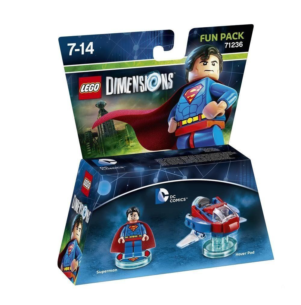 Warner Games Fanartikel »Lego Dimensions Fun Pack DC - Superman«
