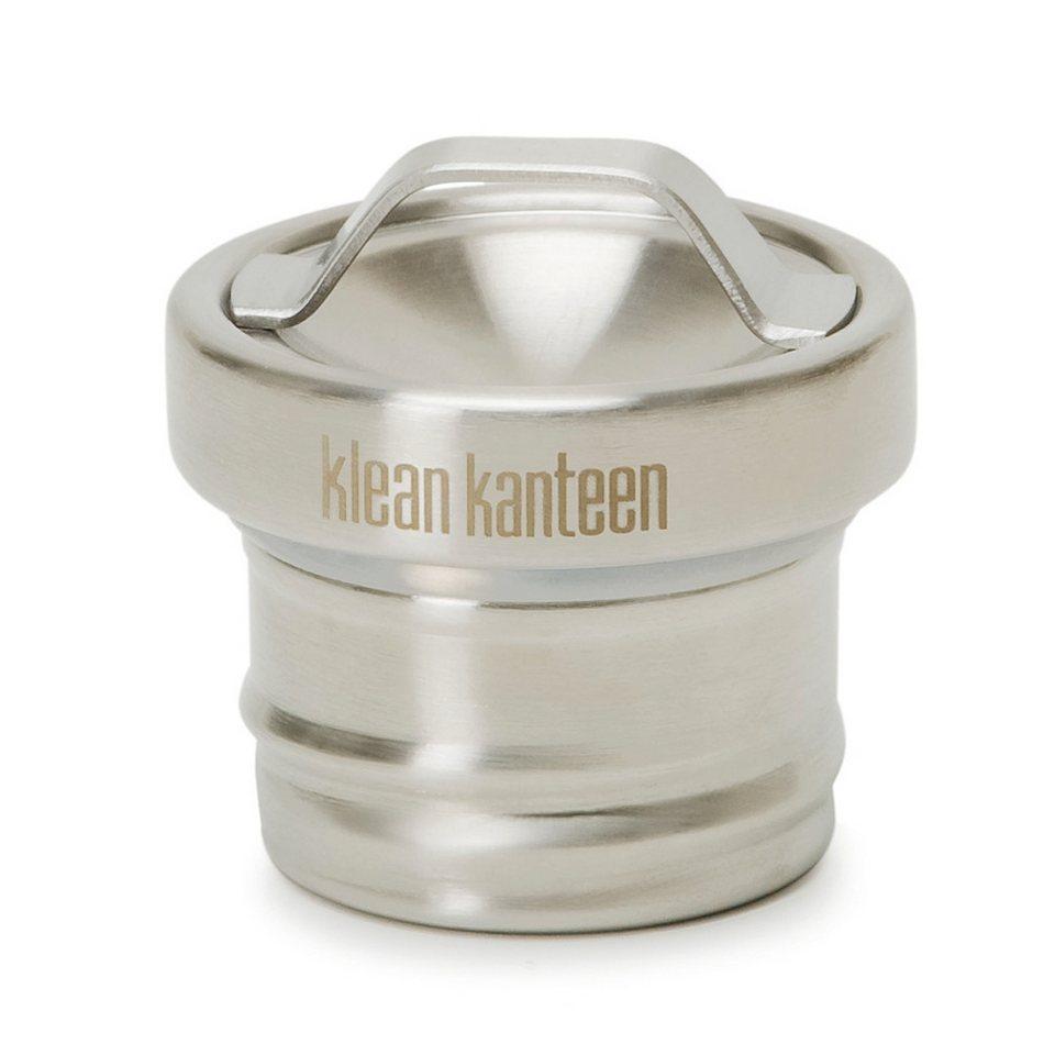 Klean Kanteen Trinkgefäß »All Stainless Edelstahl Deckel für Classic« in grau